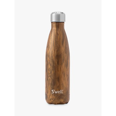 S'well Teakwood Vacuum Insulated Drinks Bottle, 500ml