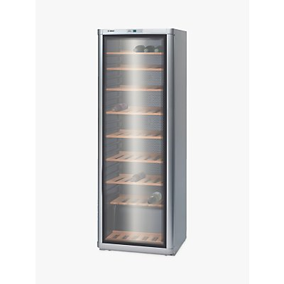 Bosch KSW30V81GB Freestanding Wine Cabinet, Silver
