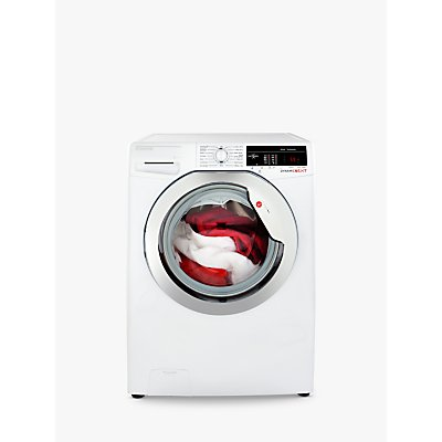 Hoover DXOA49C3 Freestanding Washing Machine, 9kg Load, A+++ Energy Rating, 1400rpm Spin, White