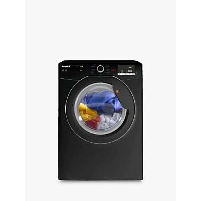 Hoover HLV9DGB Vented Tumble Dryer, 9kg Load, C Energy Rating, Black