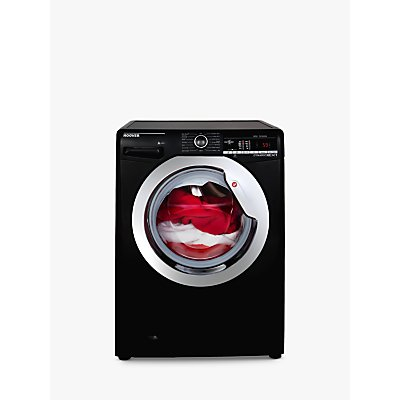 Hoover DXOA49C3B Freestanding Washing Machine, 9kg Load, A+++ Energy Rating, 1400rpm Spin, Black
