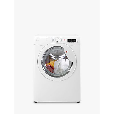 Hoover HLV9LG Freestanding Vented Tumble Dryer, 9kg Load, C Energy Rating, White