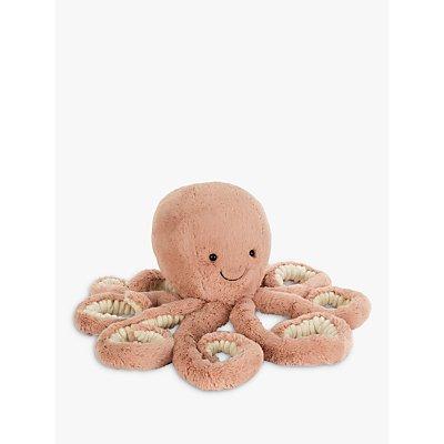 Jellycat Odell Octopus Soft Toy  Medium  Orange - 670983101539