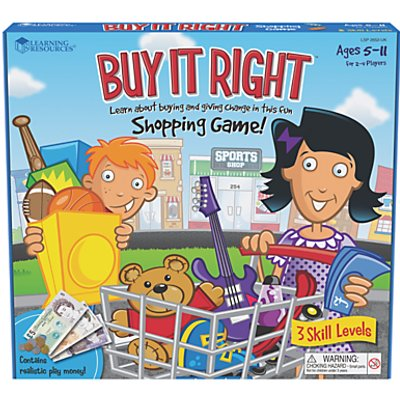 Buy It Right Shopping Game