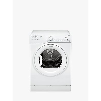 Hotpoint TVFS83BGP.9 Vented Tumble Dryer, 8kg Load, C Energy Rating, White