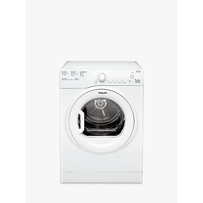 Hotpoint TVFS73BGP.9 Freestanding Vented Tumble Dryer, 7kg Load, B Energy Rating, White