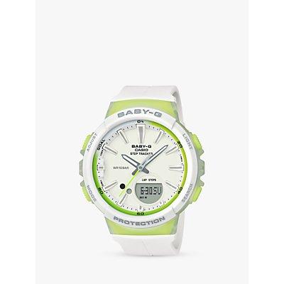 Casio Women s Baby G Quartz Step Tracker Resin Strap Watch - 4549526164200