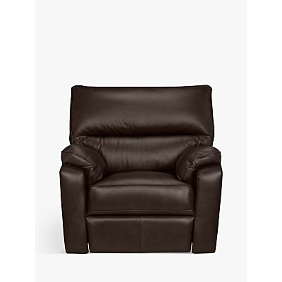John Lewis Carlisle Power Recliner Leather Armchair
