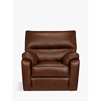 John Lewis & Partners Carlisle Power Recliner Leather Armchair