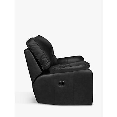 John Lewis Carlisle Leather Manual Recliner Armchair