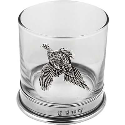 5060400675821 | English Pewter Company Pheasant Tumbler  Clear Pewter