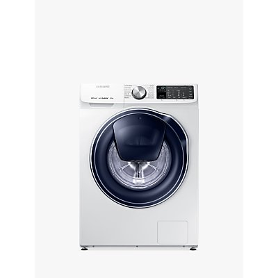 "Samsung WW80M645OPM QuickDriveâ""¢ Freestanding Washing Machine with AddWashâ""¢, 8kg Load, A+++ Energy Rating, 1400rpm Spin, White"