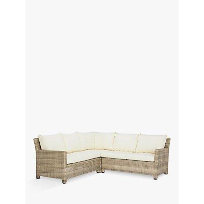 John Lewis & Partners Dante Garden Modular 4-Seater Corner Lounging Sofa