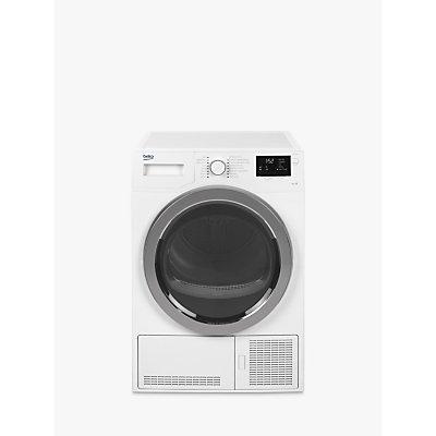 Beko DCB93166W Condenser Tumble Dryer, 9kg Load, B Energy Rating, White