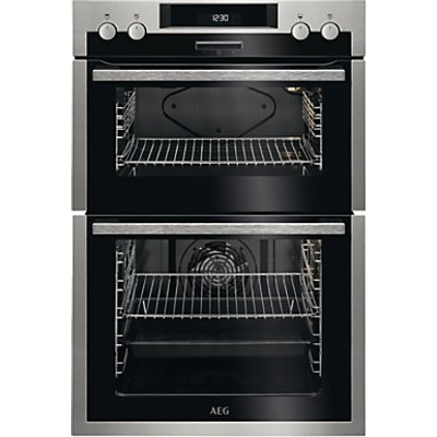 AEG DES431010M Built In Multifunction Double Oven  Stainless Steel - 7332543526505