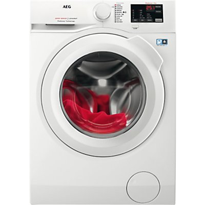 AEG L6FBI941N Freestanding Washing Machine, 9kg Load, A+++ Energy Rating, 1400rpm Spin, White