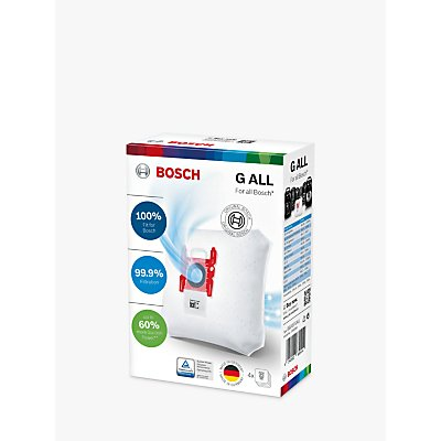 Bosch BBZ41FGALL Vacuum Cleaner Bags  Pack of 4 - 4242002830414