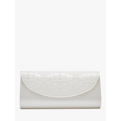 Rainbow Club Melody Clutch Bag, Ivory