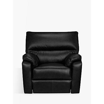 John Lewis Carlisle Leather Power Recliner Armchair