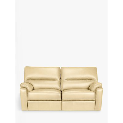 John Lewis Carlisle Leather Power Recliner Medium 2 Seater Sofa