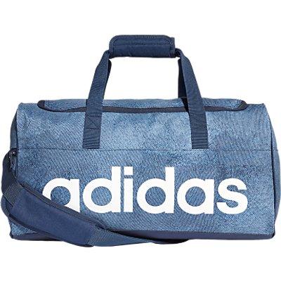 adidas Linear Performance Duffel Bag  Small  Raw Steel - 4060509771487