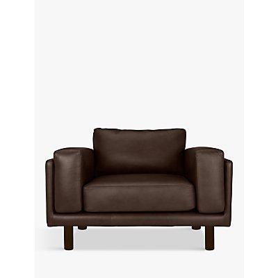 Design Project by John Lewis No.002 Leather Snuggler, Dark Leg