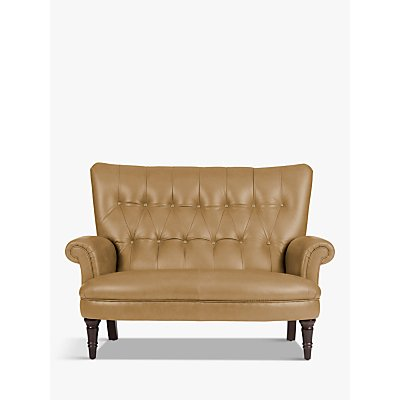 John Lewis Hambleton Leather Snuggler, Dark Leg