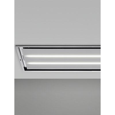 AEG DCK6290HG Ceiling Cooker Hood  White - 7332543520404