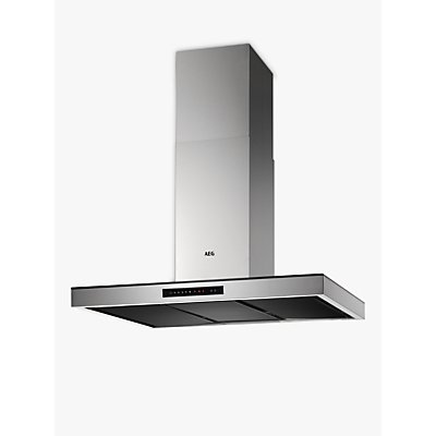 AEG DIK7190HG Island Cooker Hood  Stainless Steel - 7332543538348