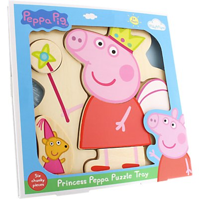 Princess Peppa Wooden Puzzle Tray