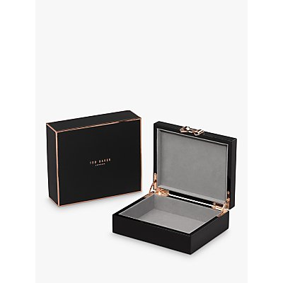 Ted Baker Medium Lacquered Jewellery Box - 5055923744307