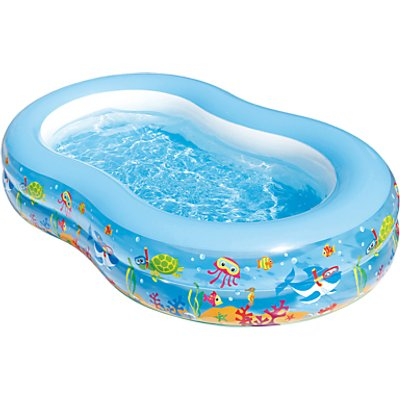 Summer Waves Aquarium Inflatable Family Pool