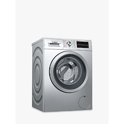 Bosch WVG3047SGB Freestanding Washer Dryer  7kg Load  A Energy Rating  1500rpm Spin  Silver - 4242005064236