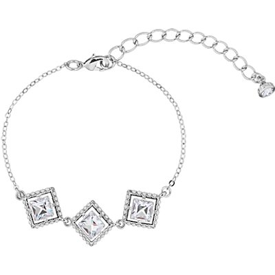 Ted Baker Palilla Faux Pearl Frame Swarovski Crystal Chain Bracelet - 5055336364062
