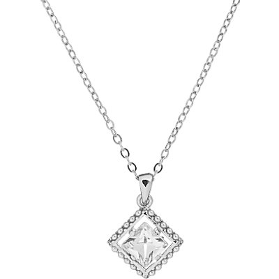 Ted Baker Pythia Pearl Frame Crystal Pendant Necklace - 5055336364161