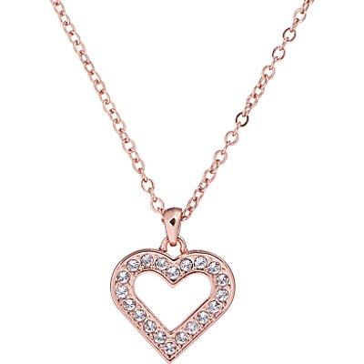 Ted Baker Evaniar Enchanted Heart Pendant Necklace  Rose Gold - 5055336364611