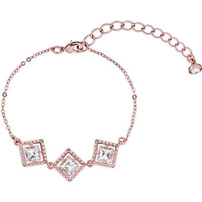 Ted Baker Palilla Faux Pearl Frame Swarovski Crystal Chain Bracelet - 5055336364086