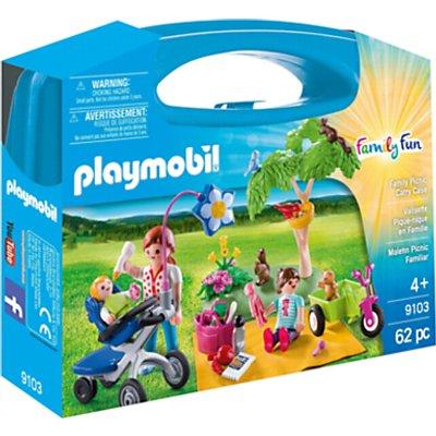 Playmobil Family Fun 9103 Family Picnic Carry Case