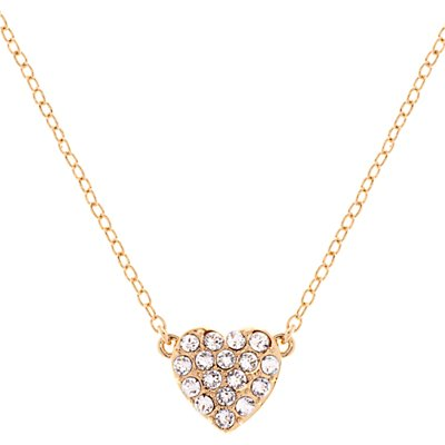 Ted Baker Pippa Pave Crystal Heart Pendant Necklace - 5055336357583