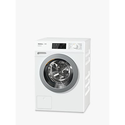 Miele WCE330 Quick PowerWash Freestanding Washing Machine, 8kg Load, A+++ Energy Rating, 1400rpm Spin, White