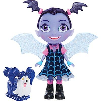 Disney Vampirina Bat-Tastic Talking Vee and Wolfie Doll