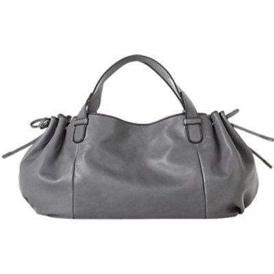 Gerard Darel Le 24 GD Leather Shoulder Bag, Grey