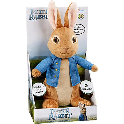 Peter Rabbit Talking Peter Rabbit Soft Toy