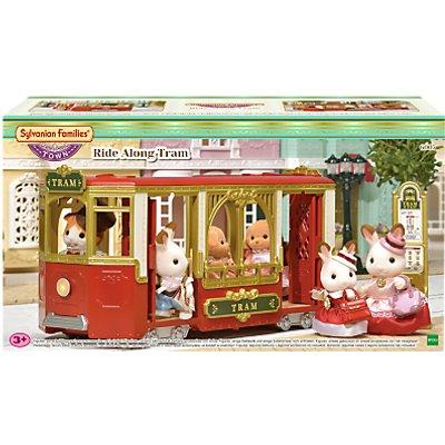 Sylvanian Families Town Series Ride Along Tram Set