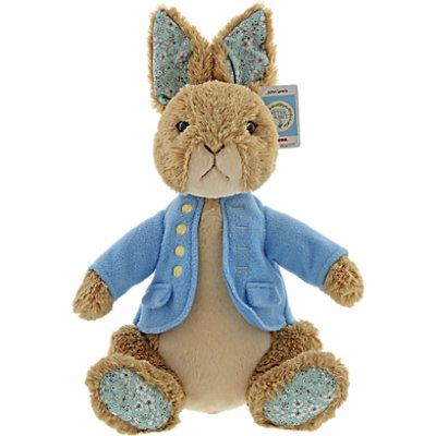 John Lewis & Partners Beatrix Potter Limited Edition Peter Rabbit Soft Toy in Gift Box
