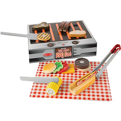 Melissa & Doug Role Play BBQ Set