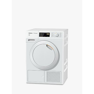 Miele TDB230WP Active Heat Pump Tumble Dryer, 7kg Load, A++ Energy Rating, White