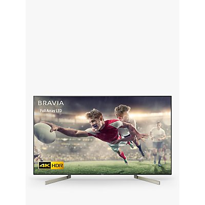 Sony Bravia KD65XF9005 LED HDR 4K Ultra HD Smart Android TV, 65 with Freeview HD & Youview, Black
