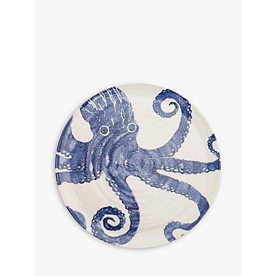BlissHome Creatures Octopus Platter  Blue  Dia 36 5cm - 5035130120132