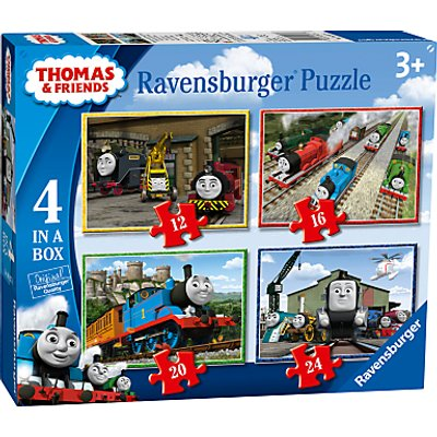 Ravensburger Thomas & Friends Jigsaw Puzzle, Pack of 4